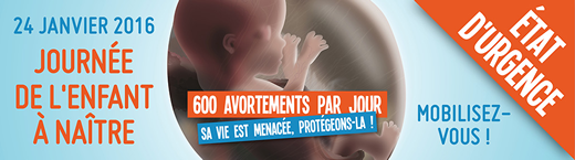 En marche pour la Vie - Dimanche 25 Janvier 2015 Paris, France - EnMarchePourLaVie.fr
